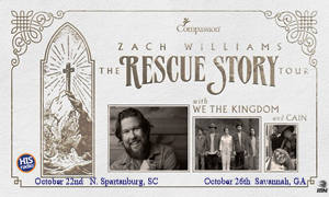 Zach Williams - The Rescue Story Tour October 2021