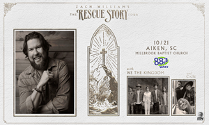 Zach Williams - The Rescue Story Tour (SOLD OUT)
